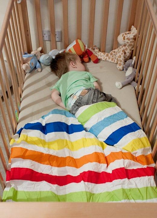 Cotbed Duvet VS Sleeping Bag