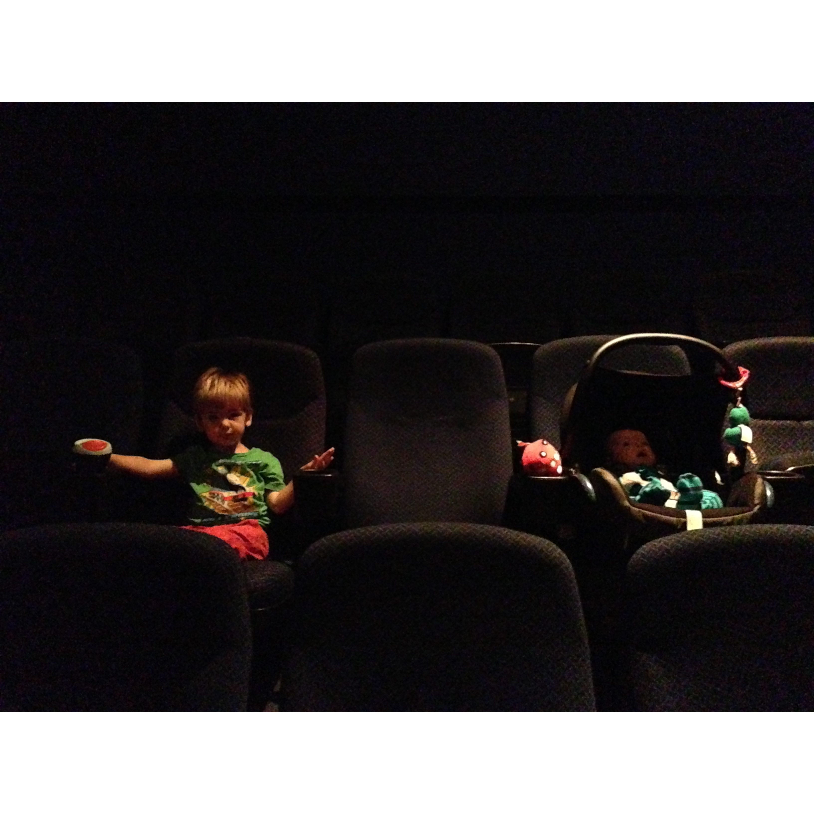 first cinema trip
