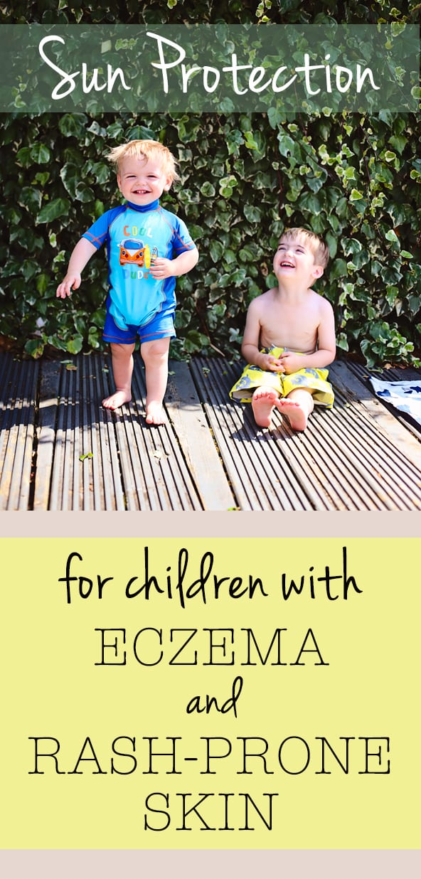 Sun lotion for children with eczema and rash-prone skin | Sorry About The Mess