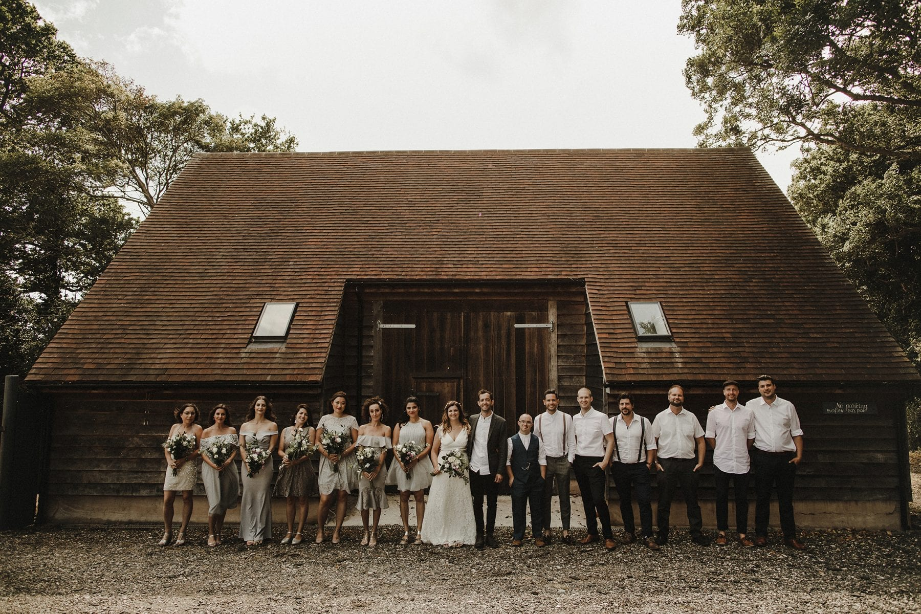 bridal party outfits